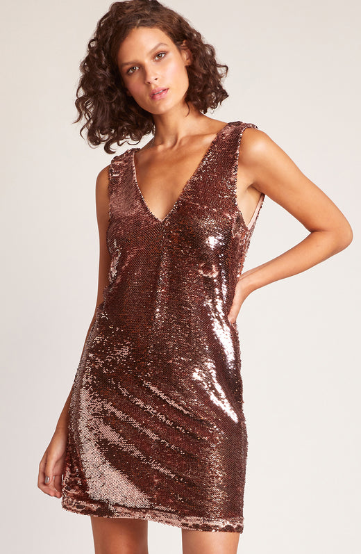 Sparkle Motion Sequin Dress