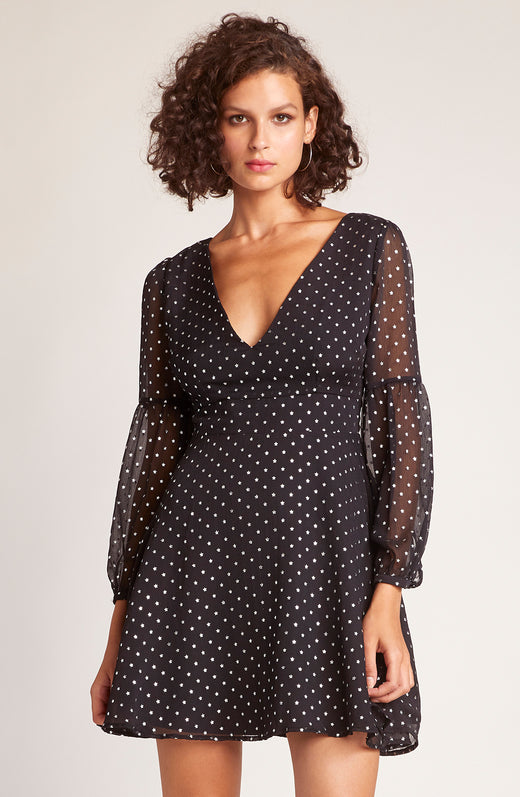 Star Gazer Printed Dress