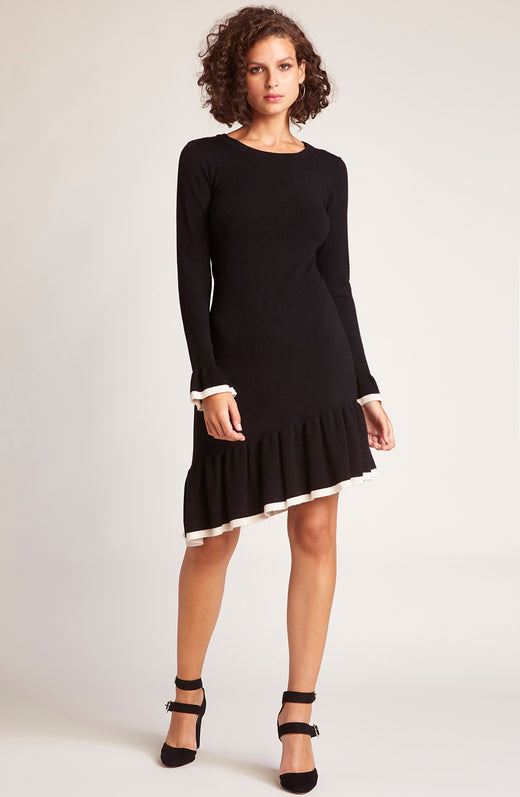 Never Tardy Sweater Dress