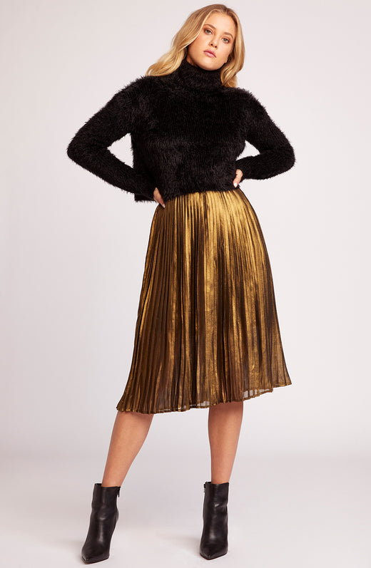 Foil The Trouble Pleated Skirt