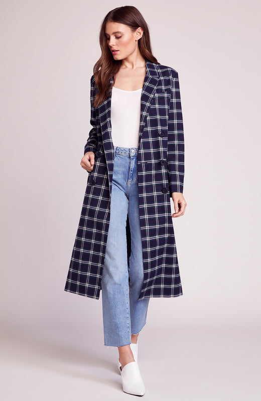 Top Notch Plaid Coat