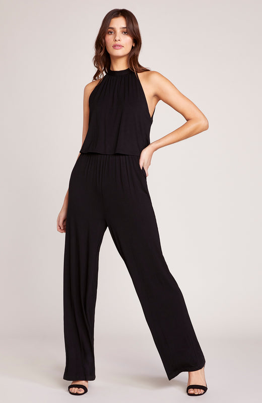 One on One High Neck Jumpsuit