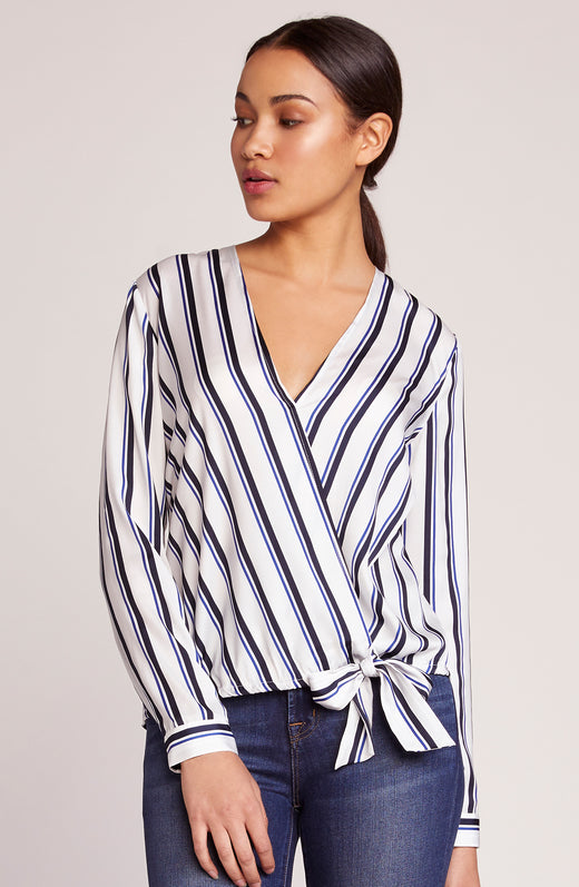 Across My Heart Stripe Top