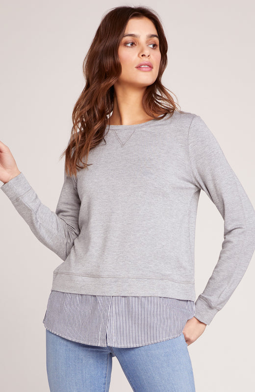Layer Slayer Shirt Tail Sweater