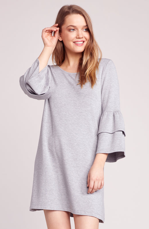 Lost In The Song Ruffle Sleeve Dress