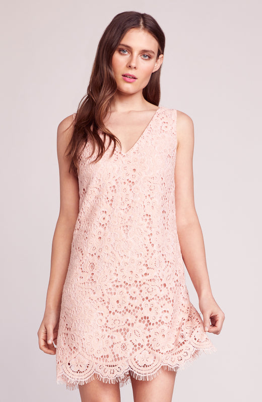 Lost In Lace Shift Dress