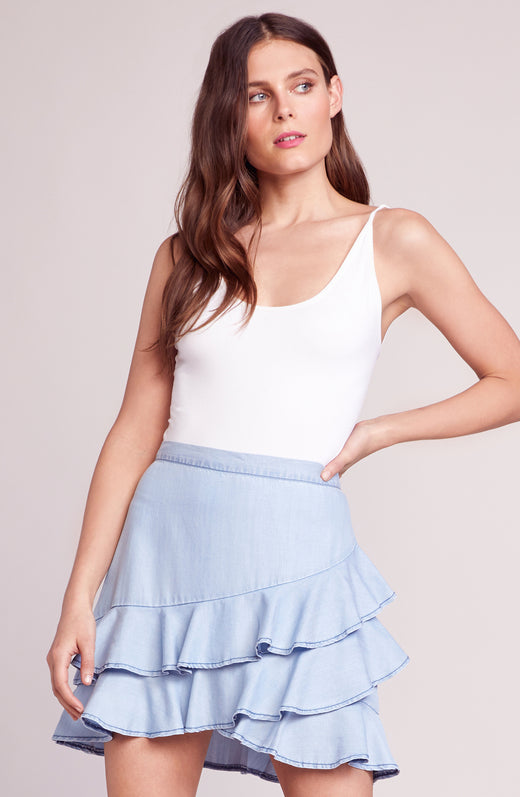 Ruffle Around Ruffle Skirt