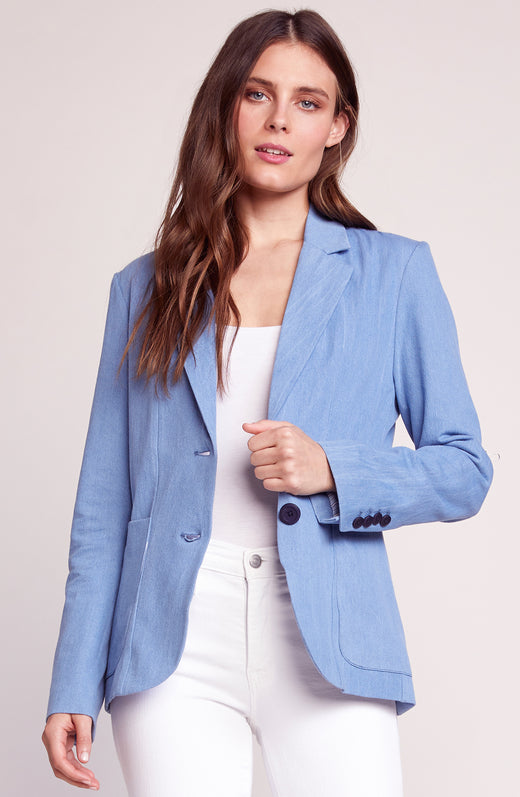 5993ac0a35a Feel It In The Rain Boyfriend Blazer