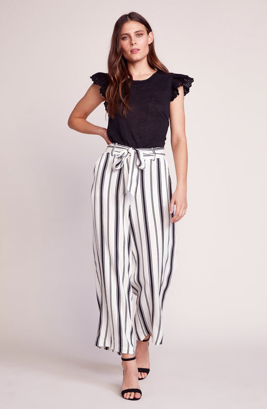Belt with You Striped Pant