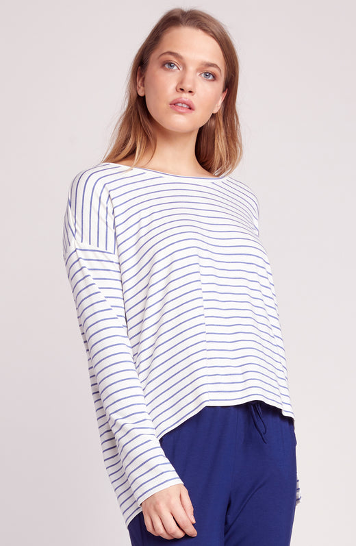 Fast and Loose Striped Top
