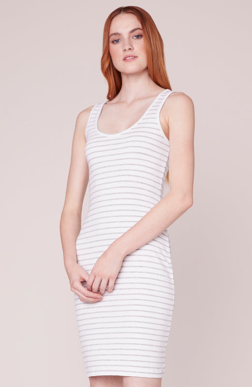 Summer Night City Striped Dress