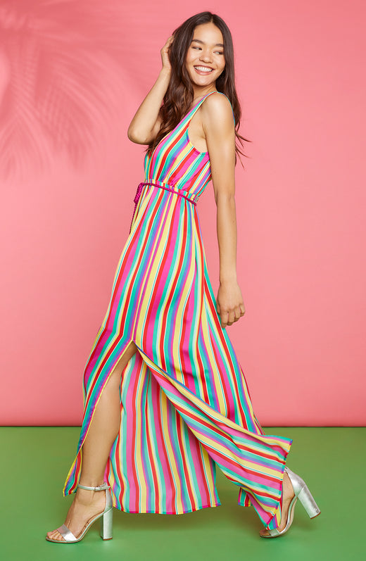 In The Rainbows Maxi Dress