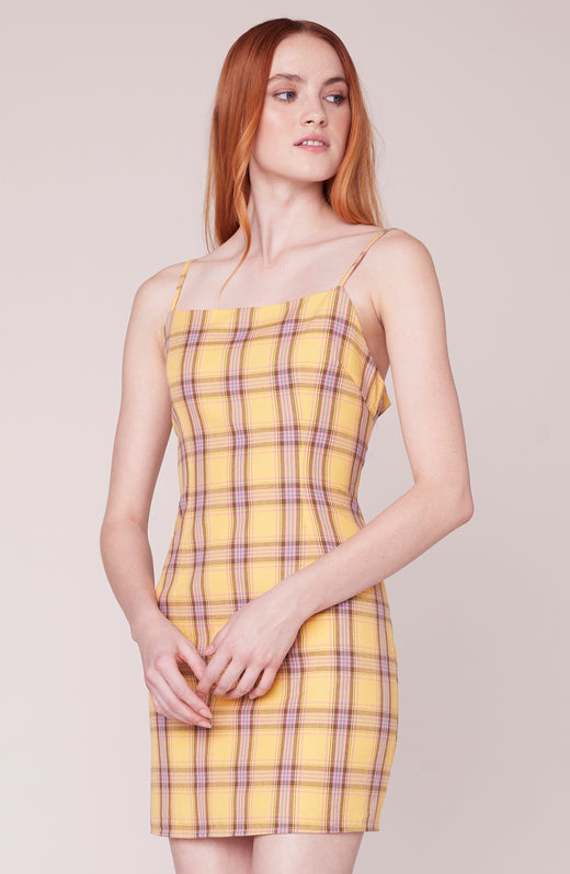 Total Betty Plaid dress