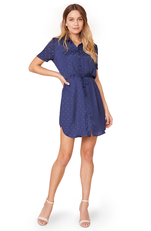 Dot It Right Shirt Dress