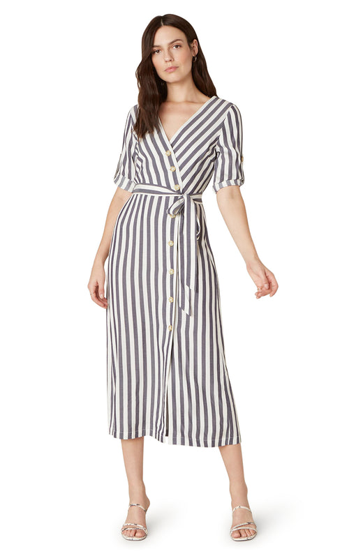 Set Sail Button-Front Dress