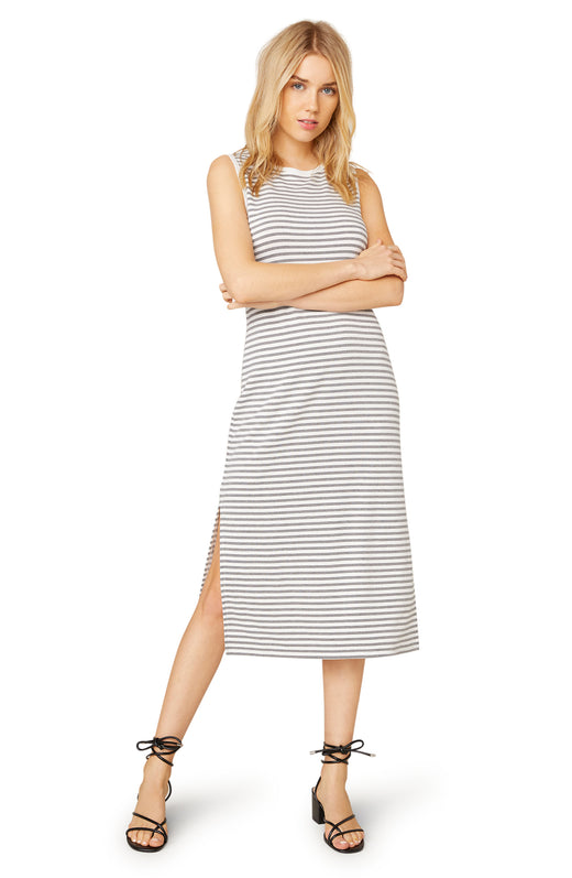 French Toast Striped Dress
