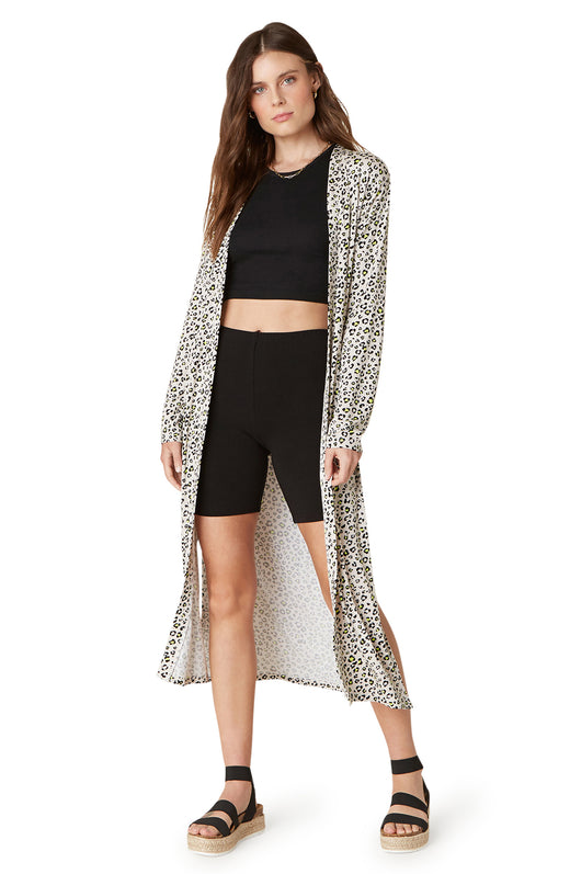 Meow Down Duster Cardigan