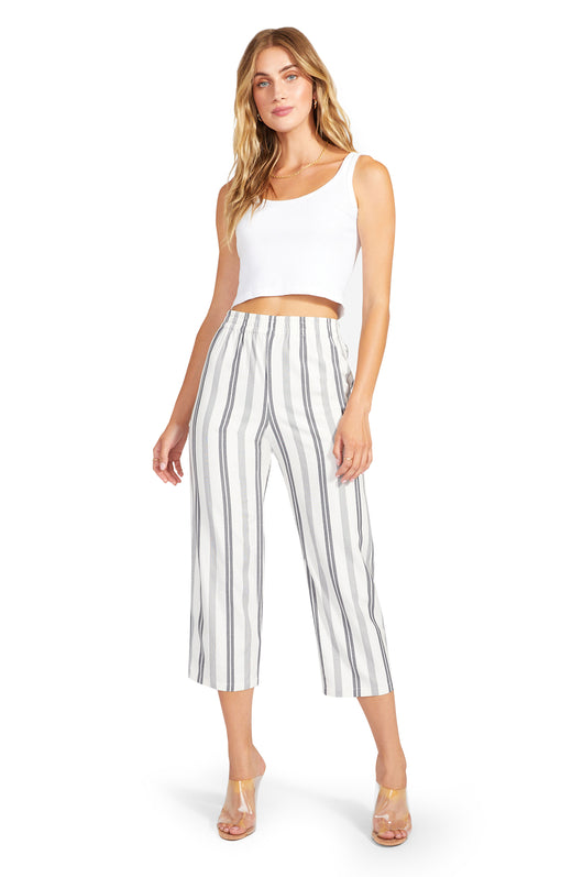 Line Language Striped Pants