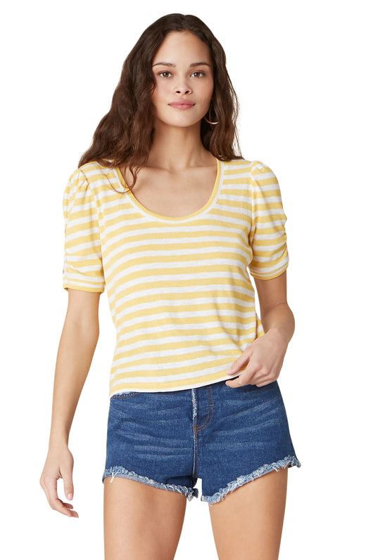 Plot Twist Striped Top