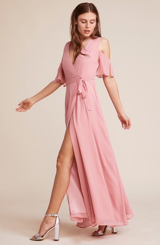 Cross My Heart Bridesmaid Dress