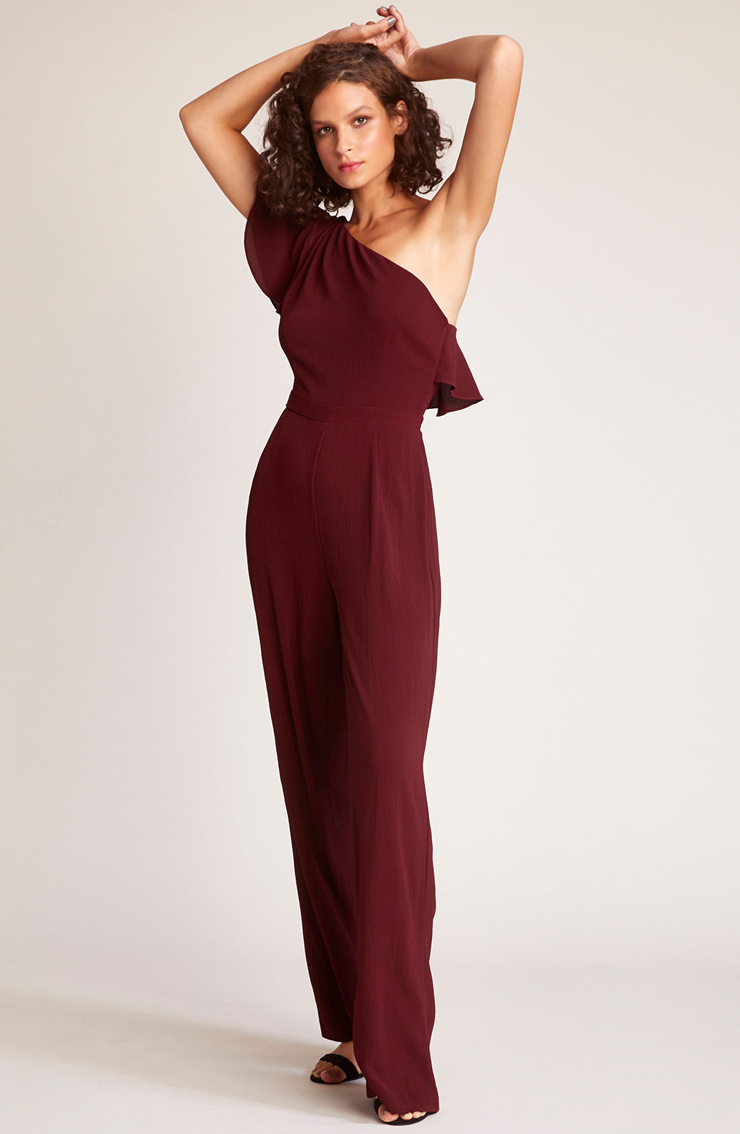 34d59a7387 L.A. Woman One Shoulder Jumpsuit