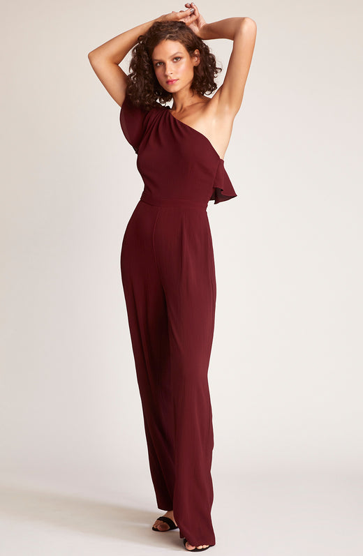 L.A. Woman One Shoulder Jumpsuit
