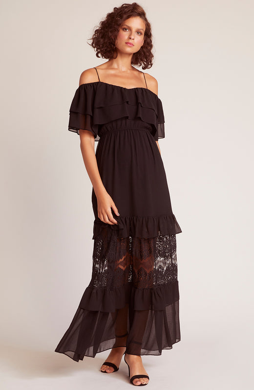 Wish Chiffon a Star Lace Maxi Dress