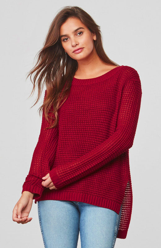 Dunning Waffle Stitched Sweater