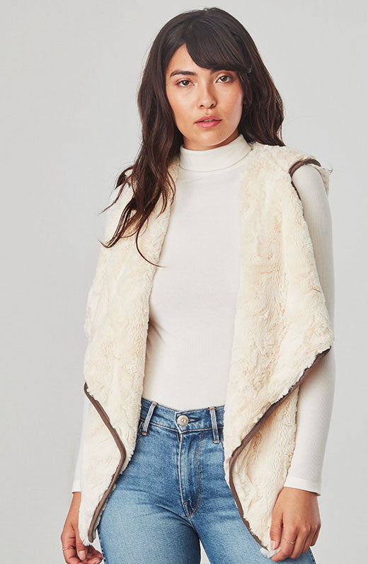 June Faux Fur Vest