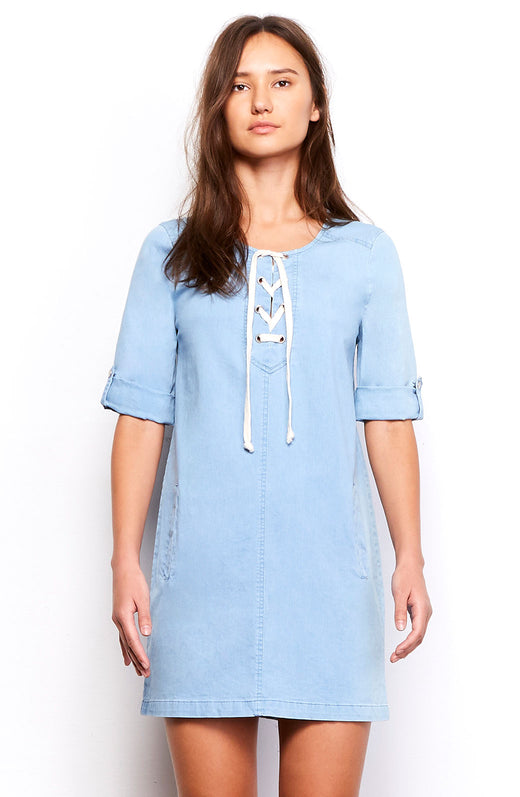 Minnie Chambray Dress