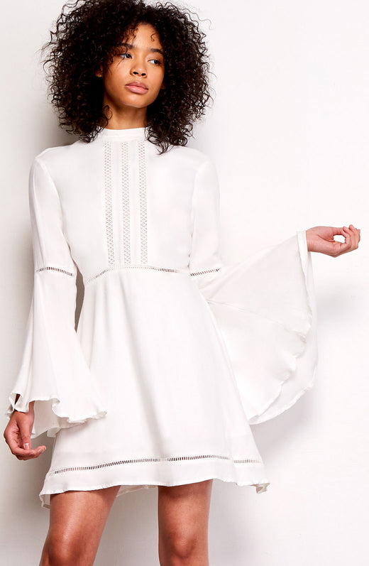 Charrelle Bell Sleeve Dress