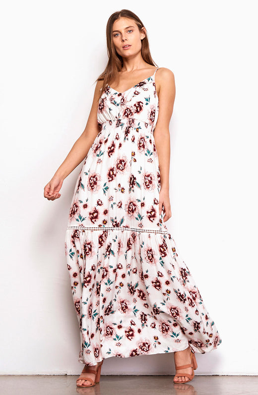 Kogan Printed Maxi Dress