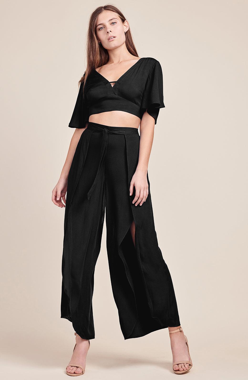 JACK by BB Dakota Emilia Pant in Black. - size L (also in M,S,XS) BB Dakota