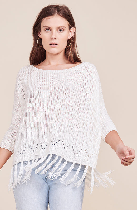 Kira Fringed Sweater