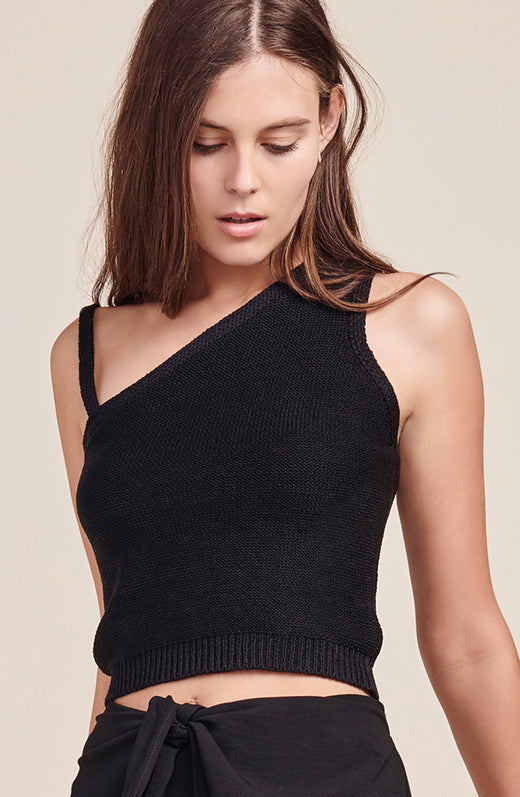 Esmeralda One Shoulder Sweater