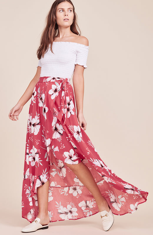 Kaliyah Wrap Skirt
