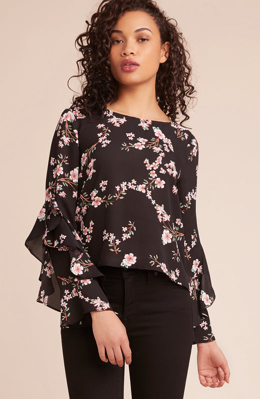 Hey Girl Printed Top