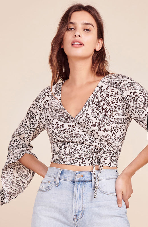 Love Street Wrap Top