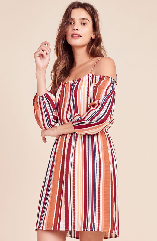 Eternal Sunshine Striped Dress