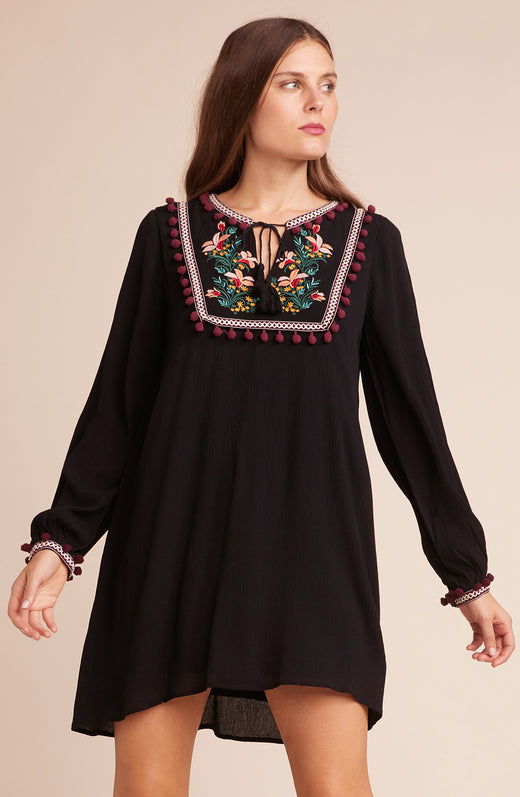 Tambourine Dream Embroidered Dress