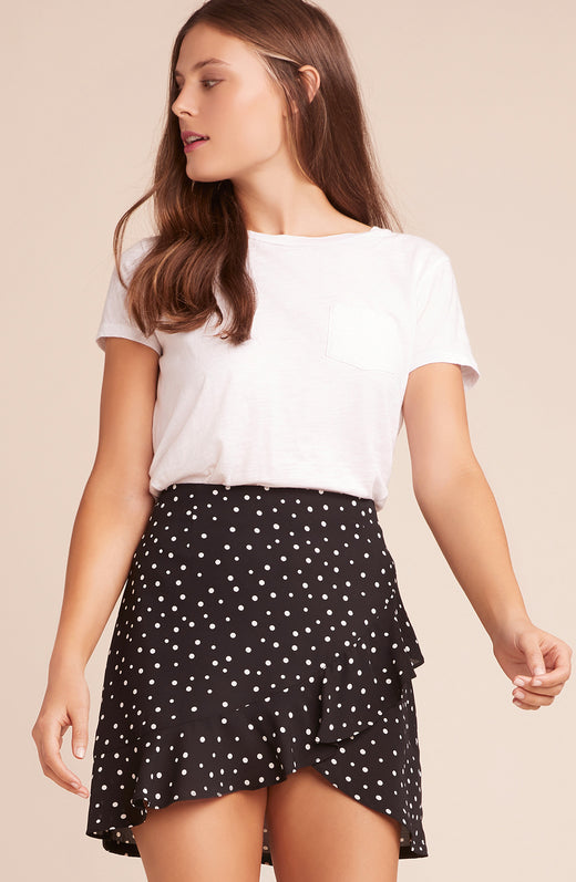 I'm A Rebel, Dottie Ruffle Wrap Skirt