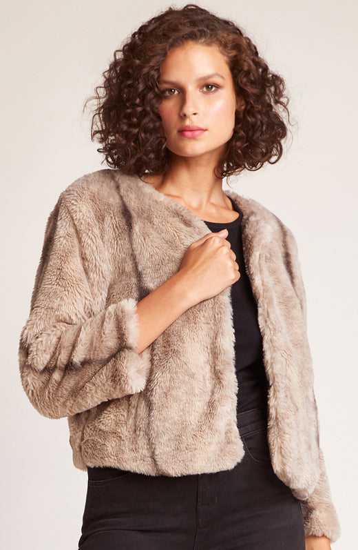 Fast and Fur-ious Faux Fur Jacket