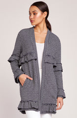 Ready To Ruffle Knit Jacket