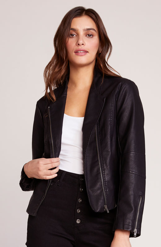 Here's The Stitch Vegan Leather Jacket
