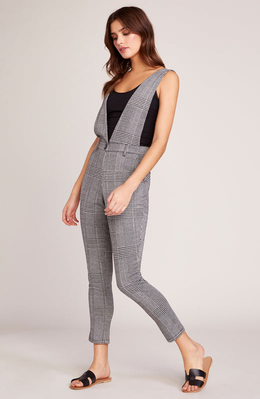 Checkmate Jumpsuit with Suspenders