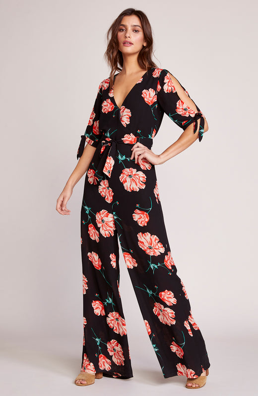 Do You Poppy Printed Jumpsuit