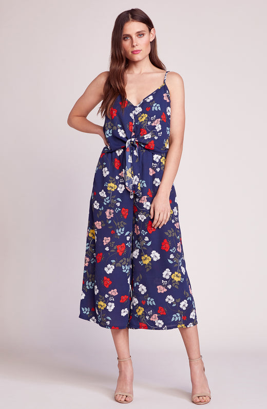 Garden My French Tie Front Jumpsuit