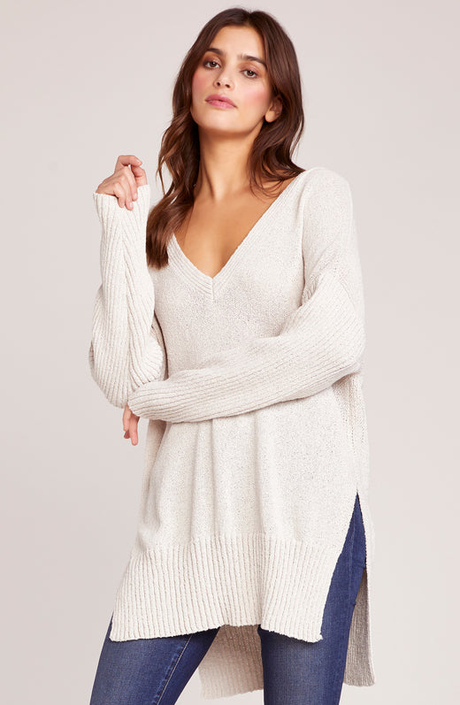 Getting Warmer Ribbed Sweater