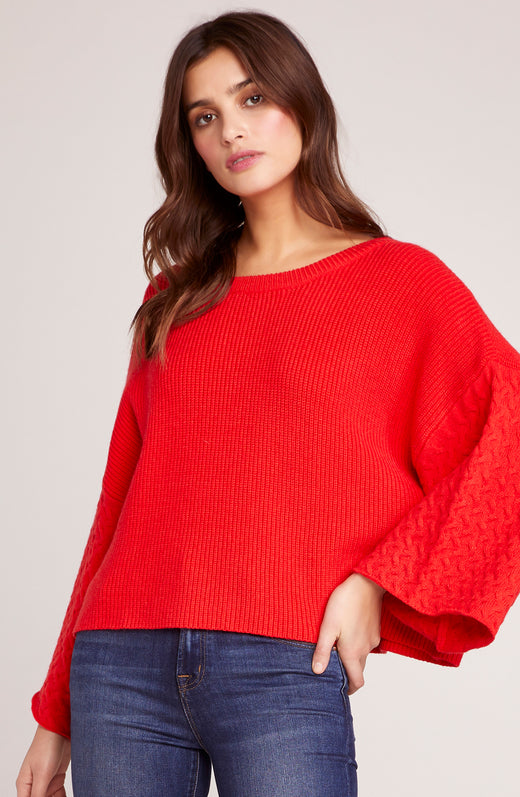 In The Mix Wide Sleeve Sweater