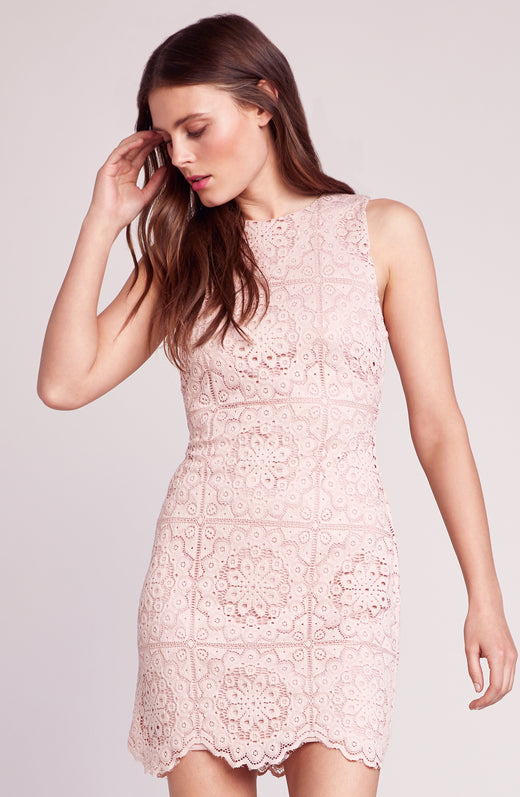 Ace of Lace Scallop Hem Dress